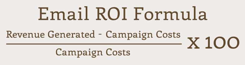Email KPIs - ROI